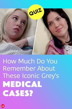 How well do you remember the iconic medical cases throughout Grey's Anatomy? Have you been paying attention to the patients? #greys #shondaland #greysLove #greysrandomQuiz #greysFan #meredithgrey #shonda #GreysAnatomy #greysquiz #greysnostalgia #greysAnatomyTrivia #medicalcases #greyscases