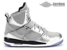 cheap for discount da681 ce3de Jordan Flight 45 High GS - Chaussures Baskets Nike Jordan Pas Cher Pour  Femme Enfant
