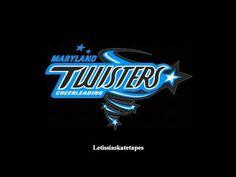 Maryland Twisters F5: 2012-2013 Music. Cheering music I love!!!