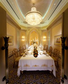 Dining Room | Palace Suite | Emirates Palace