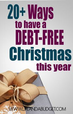 Christmas should not be the most expensive holiday of the year. Read this article for tips on how to stay debt free and save money this holiday season! via @lifeandabudget