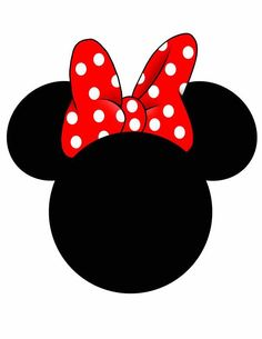 - View all images at Mickey Head DISigns folder Decoration Minnie, Minnie Mouse Birthday Decorations, Minnie Mouse Theme, Mickey Mouse Head, Minnie Bow, Mickey Mouse Birthday, Mickey Mouse Cartoon, Image Mickey, Minnie Mouse Silhouette