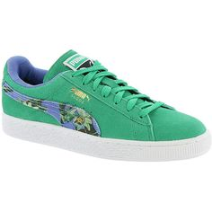 d85ab4fec01c34 PUMA Suede Classic + Flourish ( 70) ❤ liked on Polyvore featuring shoes
