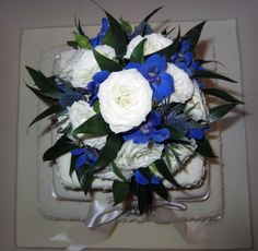 I am a professionally trained, private florist who undertakes wedding and corporate event work in Edinburgh and the Lothians. Blue Delphinium, Delphiniums, Thistle Wedding, Corporate Events, Floral Wreath, Art Deco, Wreaths, Google Search, Door Wreaths