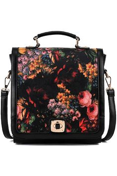 #romwe #bag #flower