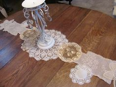 """Fabulous Vintage Crochet Doily. This one is one long piece $32, 56"""" long"""
