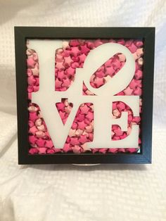 Check out this item in my Etsy shop https://www.etsy.com/listing/502191353/9x9-love-origami-shadowbox