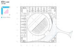 """Le nuove frontiere dell'Architettura Il Cubo TEK3 di Taipei, Taiwan, la """"piazza verticale"""" un progetto del Bjarke Ingels Group"""