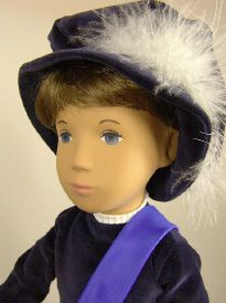 185 A Gregor Brunette, Prince Gregor  brunette hair (wig) 1 9 8 5