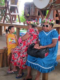Fabulous lady at the market - Rarotonga