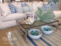 Available at Crisp whites meet coastal elegance. Shop this look now at  http://www.pineapplespalms.com/category-s/1953.htm