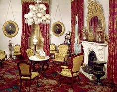 Victorian Parlor Photos | An Intimate Portrait of Home: Period Views of Domestic Interiors in ...