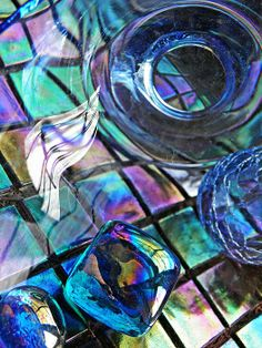 Glass Abstract 692     by S Loft