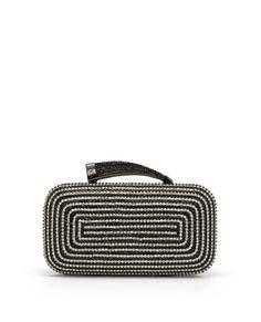 Horn Clutch Handbag - Metallic Designer Purse For Women - Vince Camuto