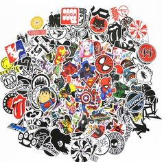 50 pcs/pack stickers Classic Fashion Style Graffiti Stickers For Moto car suitcase cool laptop Cartoon anime Skateboard sticker Waterproof Motorcycle Boots, Leather Motorcycle Boots, Coldplay, Black Moto Boots, Moto Car, Light Film, Cheap Stickers, Sticker Bomb, Classic Style