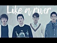 Famous Four / Like a river Drama Fever, Meteor Garden, Boys Over Flowers, Someone Elses, Korean Drama, Dramas, Asian, River, Words