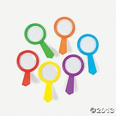 Colorful Magnifying Glasses - Oriental Trading