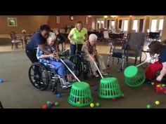 Hungry hungry hippos brookdale senior edition Wheelchair Games for Older Adults – Seniors – Elderly – This one works for all ages! Assisted Living Activities, Group Therapy Activities, Occupational Therapy Activities, Work Activities, Group Games, Group Activities For Adults, Physical Activities, Games For Elderly, Elderly Activities