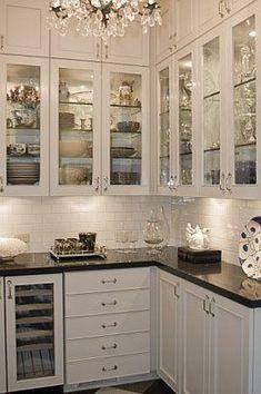 Glam Butler's pantry