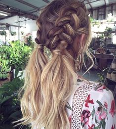 47 Easy Hairstyles for Schools to Try in Peinados, It super easy and looks great! easy hairstyles for school. Good Hair Day, Pretty Hairstyles, Beach Hairstyles Medium, Amazing Hairstyles, Cool Hairstyles For School, Hairstyles 2018, Ponytail Hairstyles, Hairstyle Ideas, Hairstyles For Pictures