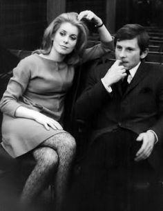 Catherine Deneuve and Roman Polanski, 1967