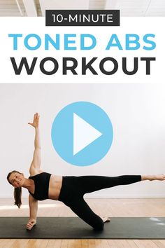 Strengthen your deep core muscles with this challenging LOWER AB WORKOUT! Tone your lower belly pooch with this home workout video - The Best Lower Ab Workout For Women! 10 bodyweight, lower abs exercises to do post-baby Youtube Workout Videos, Home Workout Videos, Abs Workout Video, Ab Workout At Home, Fat Workout, Workout Fitness, Health Fitness, Lower Ab Workout For Women, Lower Belly Workout