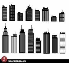 Sutori: Dibujo de Escenarios #8 - El paisaje urbano