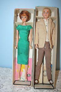 Vintage Barbie and Ken in original boxes!