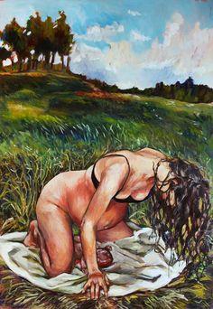 More and more Amanda Greavette paintings