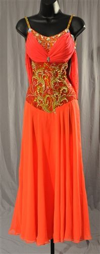 5e1f41200cf3 Sexy Drape Back Custom High End Ballroom Dress Dress P, Peplum Dress, Vals,
