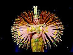 Masha Silaeva - Cirque du Soleil - Hula Hoop - The world greatest Cabaret - YouTube