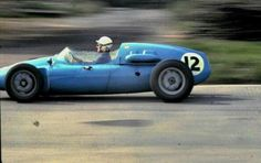 "1960 BARC ""200 Miles"", Aintree : Maurice Trintignant, Cooper-Climax T45 #12, Scuderia Centro Sud, 5th (ph: © Simon Lewis)"