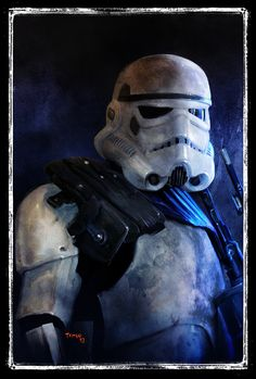 Star Wars Portraits - by Tariq Raheem