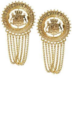 ASOS Coin Earrings, £8