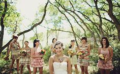 Demoiselles d'honneur, bridesmaid | Blog mariage, Mariage original, pacs, déco