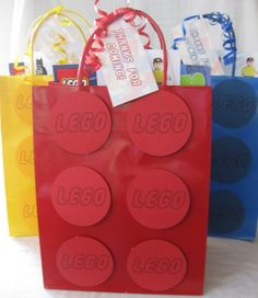 lego party favor bag
