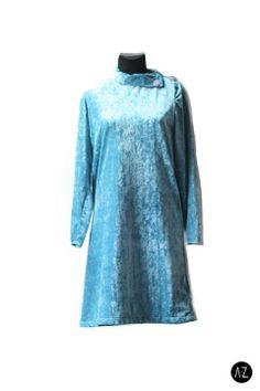 Vestido vintage plush celeste #fashion