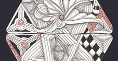 """Day ten of the 12 days of 3zs project introduced a new original Zentangle tangle """"Drawings"""". It has been published during the ZenAgain Meet..."""