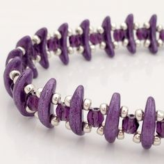 Purple Crescent Bracelet £12.00