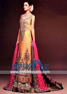 Pakistani Designer Bridal | Pakistani Shalwar Kameez 2013  and Ocassion wear by www.dressrepublic.com