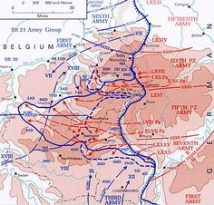 Battle of the Bulge map