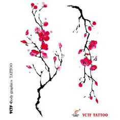 japanese sakura flower tattoo design - Buscar con Google