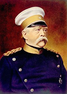 size: Photo: Otto Von Bismarck, Chancellor of Germany, known as the Iron Chancellor : Artists Adele, Otto Von Bismarck, Korean War, Prussia, Portrait Art, Portraits, Military Art, World War I, Germany