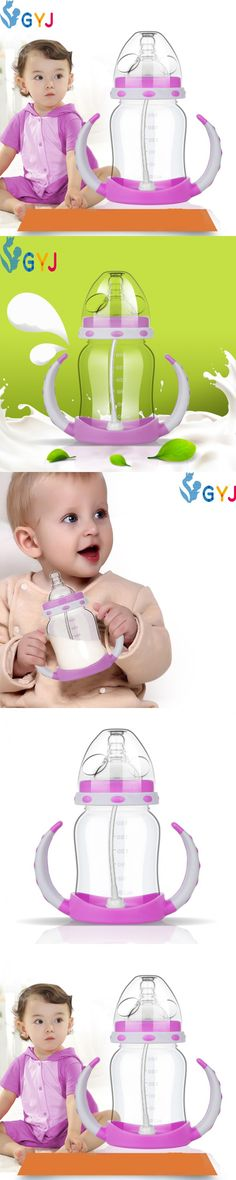 Baby sippy cups bottle plastic baby feeding sippy cup baby water bottles handles infant toddler newborn child sippy my bottles