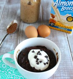 Flourless Chocolate Mug Cake