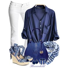 A fashion look from April 2013 featuring Citizens of Humanity jeans, UGG Australia sandals and MICHAEL Michael Kors shoulder bags. Browse and shop related look…