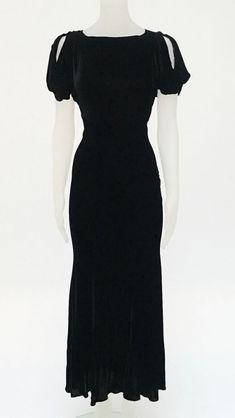 VELVET DRESS - Norma Kamali