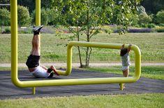 Outdoor Gym, Outdoor Workouts, Outdoor Fitness Equipment, No Equipment Workout, Fitness Devices, Sport Park, Playground Design, Landscape Architecture Design, Public