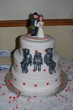 Doctor Who Themed Wedding | ... Dimensions In Space has Awesome Doctor Who themed wedding cakes