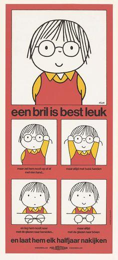 Een bril is best leuk, Dick Bruna, 1975